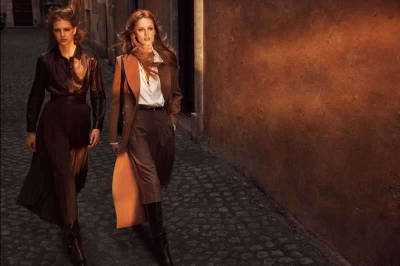 Massimo Dutti focuses on chic looks for fall-winter 2019 campaign