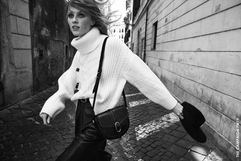 Massimo Dutti spotlights knitwear for fall-winter 2019 campaign