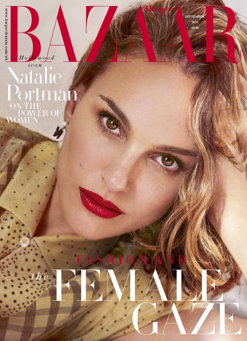 Natalie Portman on Harper's Bazaar UK September 2019 Cover