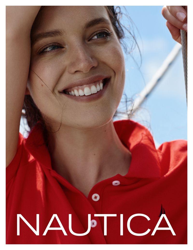 Emily DiDonato stars in Nautica fall-winter 2019 campaign
