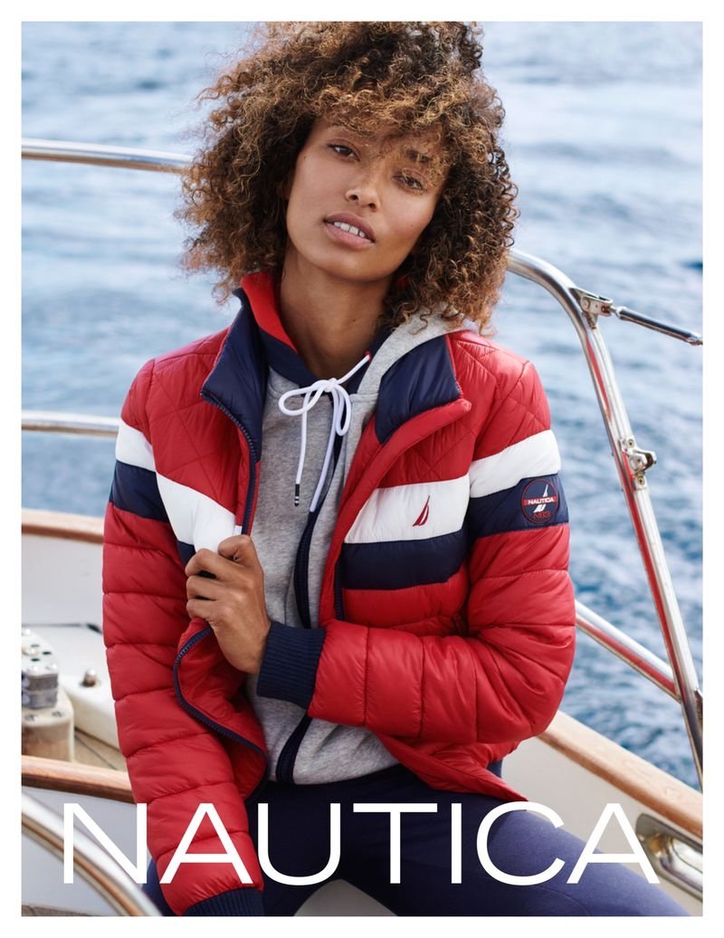An image from Nautica's fall 2019 advertising campaign