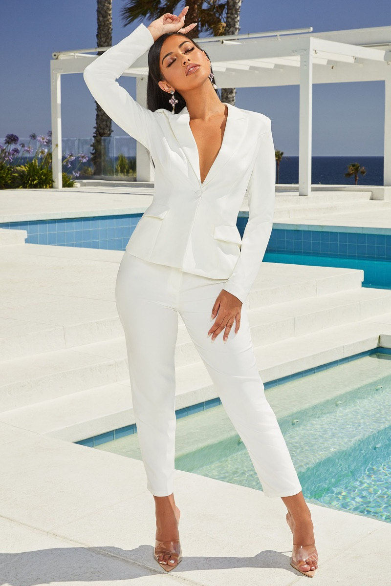 Oh Polly White Suit