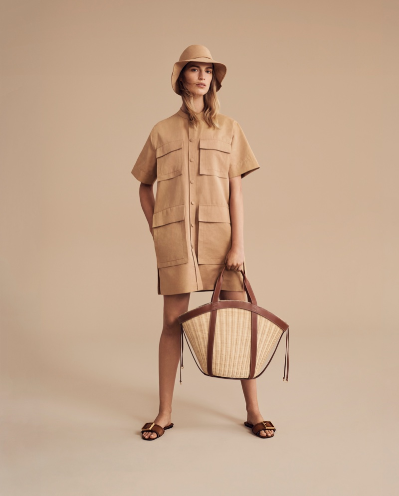 Neutrals stand out in Oroton spring-summer 2019 campaign