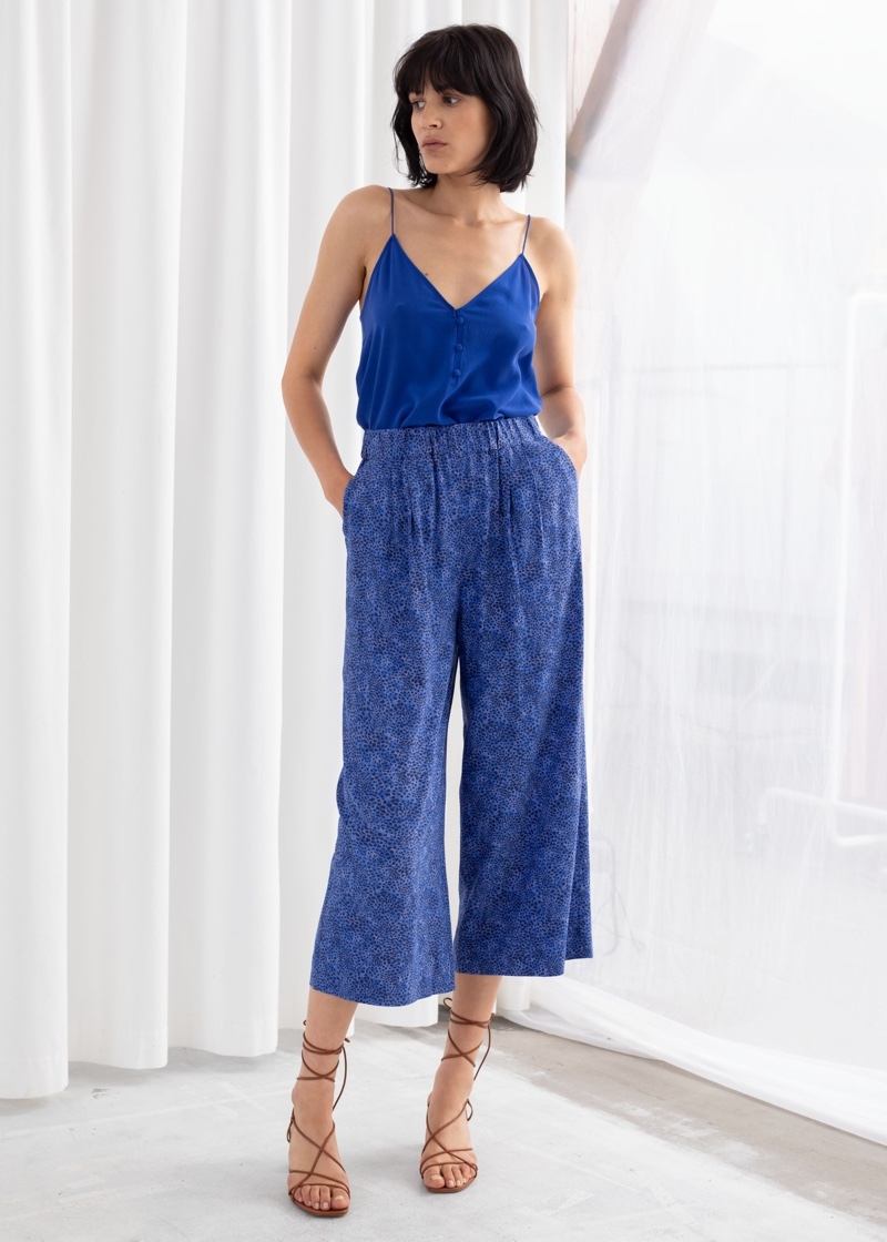 & Other Stories High Waisted Culottes $89