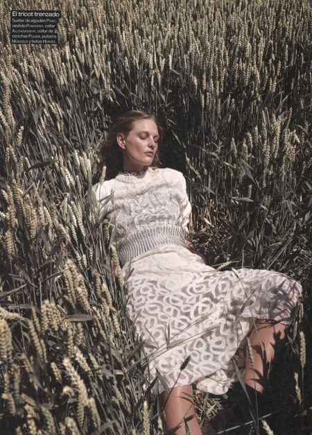Patricia van der Vliet Models Outdoor Styles for Woman Spain