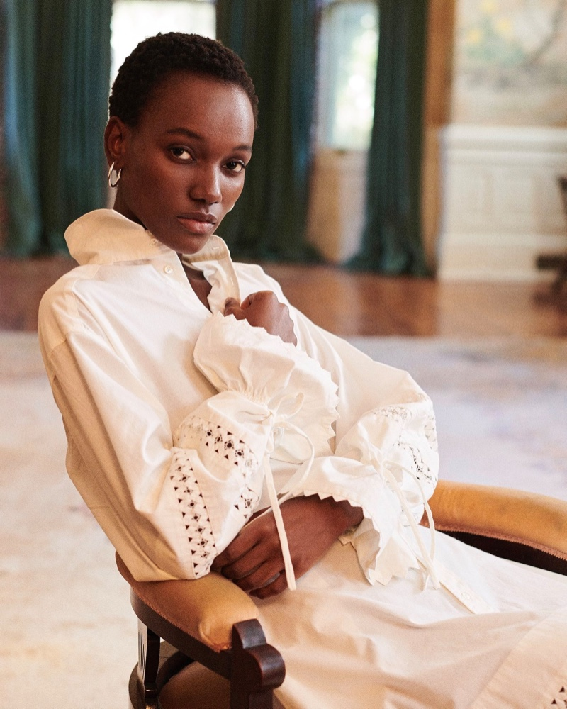 Herieth Paul fronts Polo Ralph Lauren pre-fall 2019 campaign