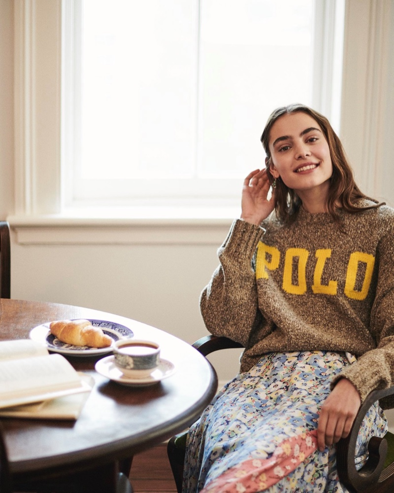 Logo pieces stand out in Polo Ralph Lauren pre-fall 2019 campaign