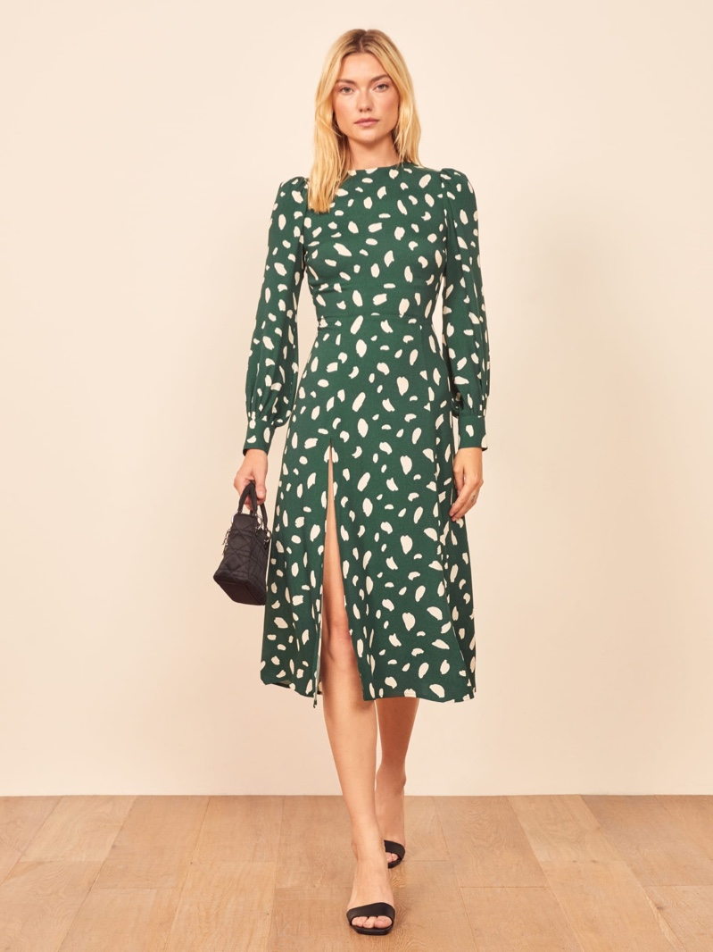 Reformation Creed Dress in Fen $248