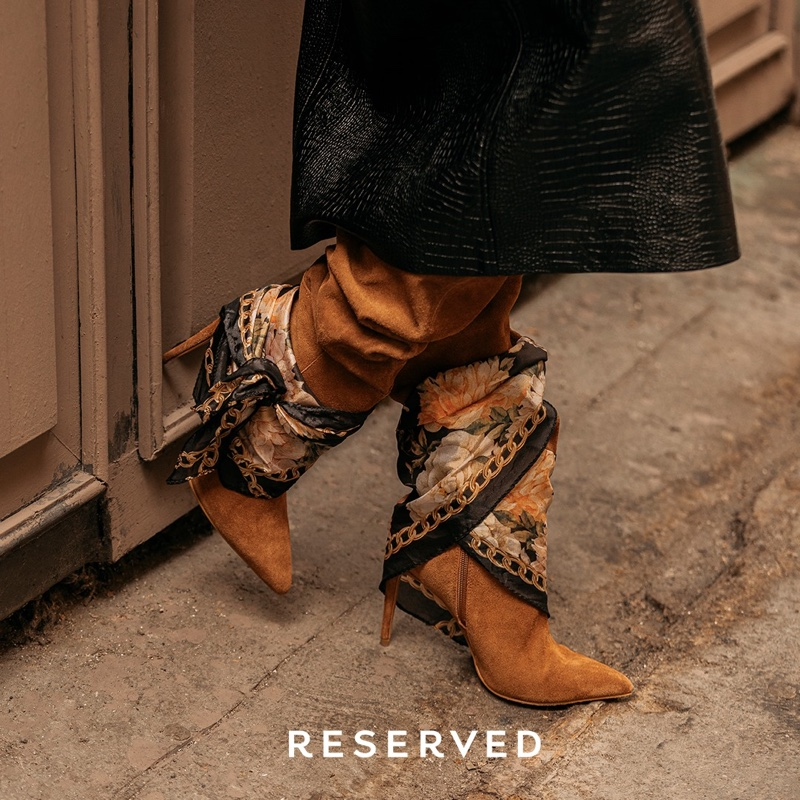 Suede boots from Reserved