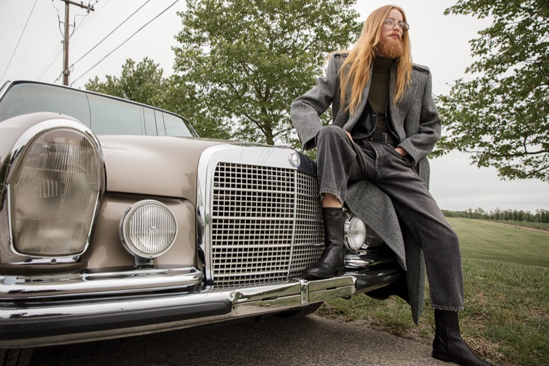 Rianne van Rompaey Wears the Autumn Collections for WSJ. Magazine