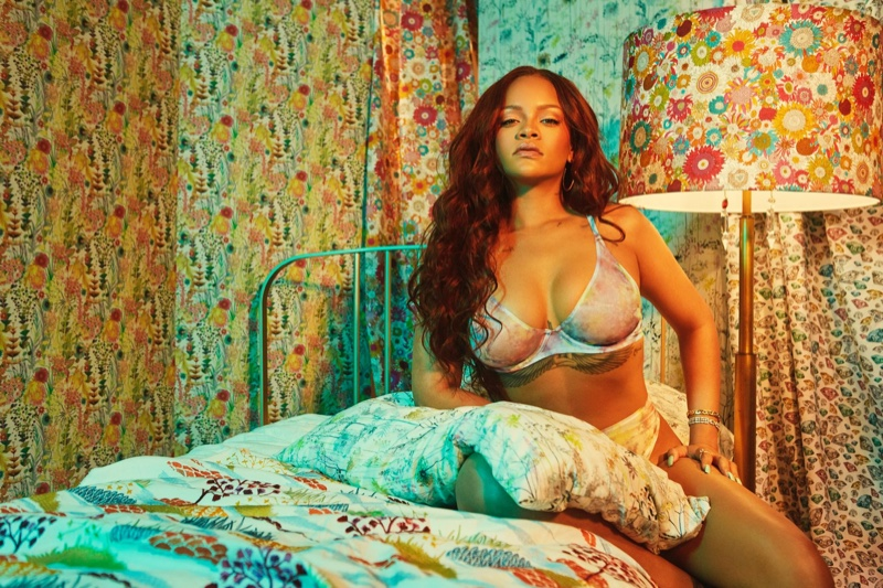 Rihanna stars in Savage x Fenty August 2019 lingerie campaign