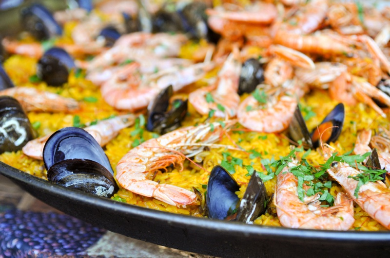 Spanish Paella Food