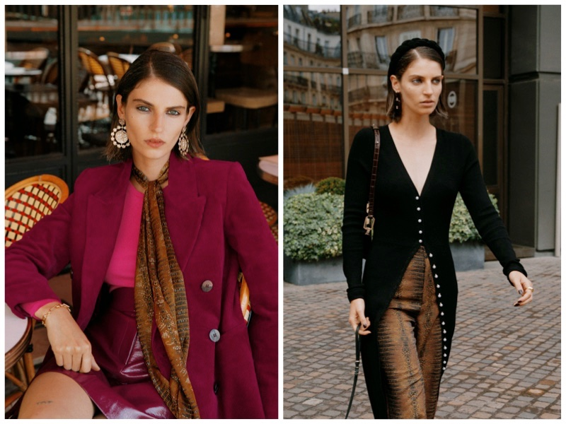 & Other Stories French girl chic fall 2019