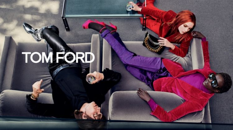 Tom Ford channels retro vibes for fall-winter 2019 campaign