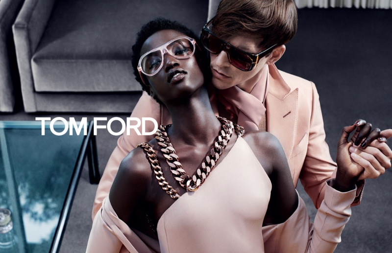 Tom Ford spotlights pink for fall-winter 2019 campaign