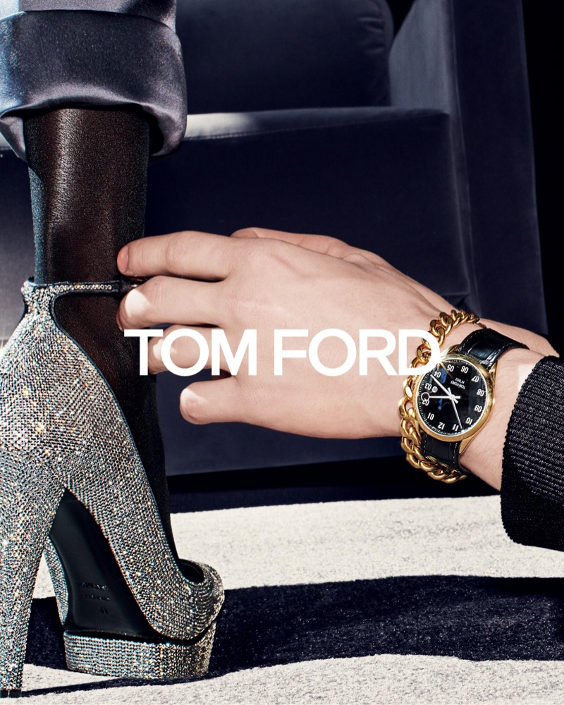 An image from the Tom Ford fall 2019 advertising campaign