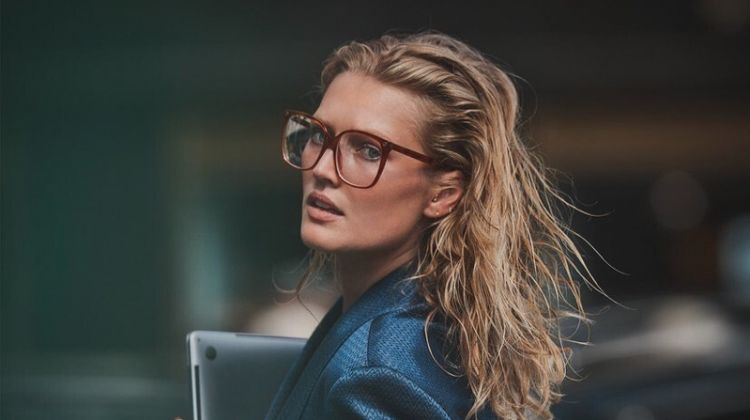 Toni Garrn Wears Office-Ready Looks for GQ Mexico