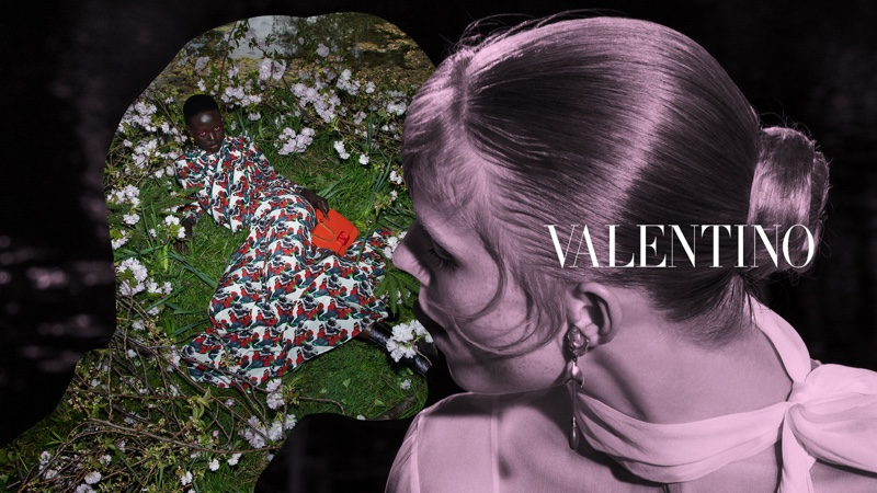 Adut Akech fronts Valentino fall-winter 2019 campaign