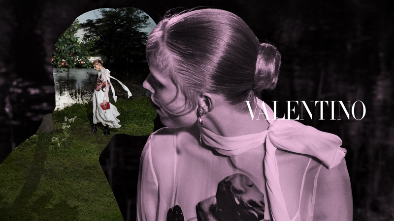An image from the Valentino fall 2019 advertising campaign