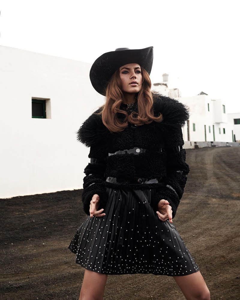 Valery Kaufman Channels Western Style for Collectible Dry