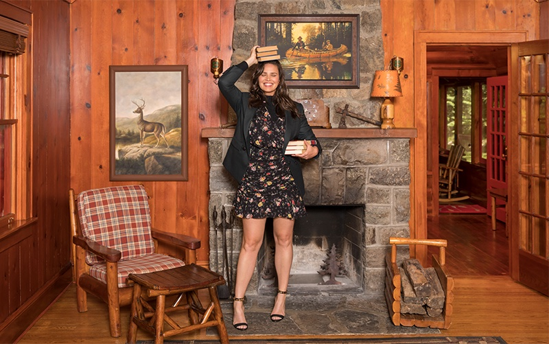 Candice Huffine fronts Veronica Beard fall-winter 2019 campaign