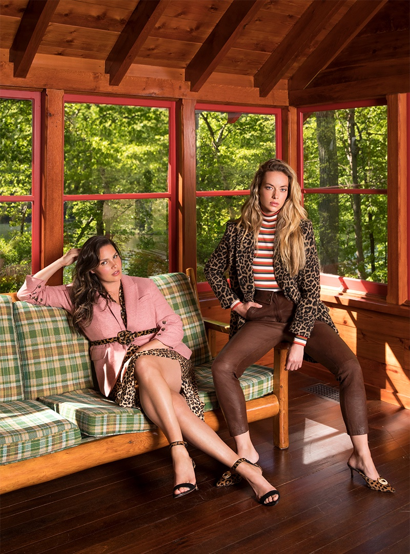 An image from Veronica Beard's fall 2019 advertising campaign