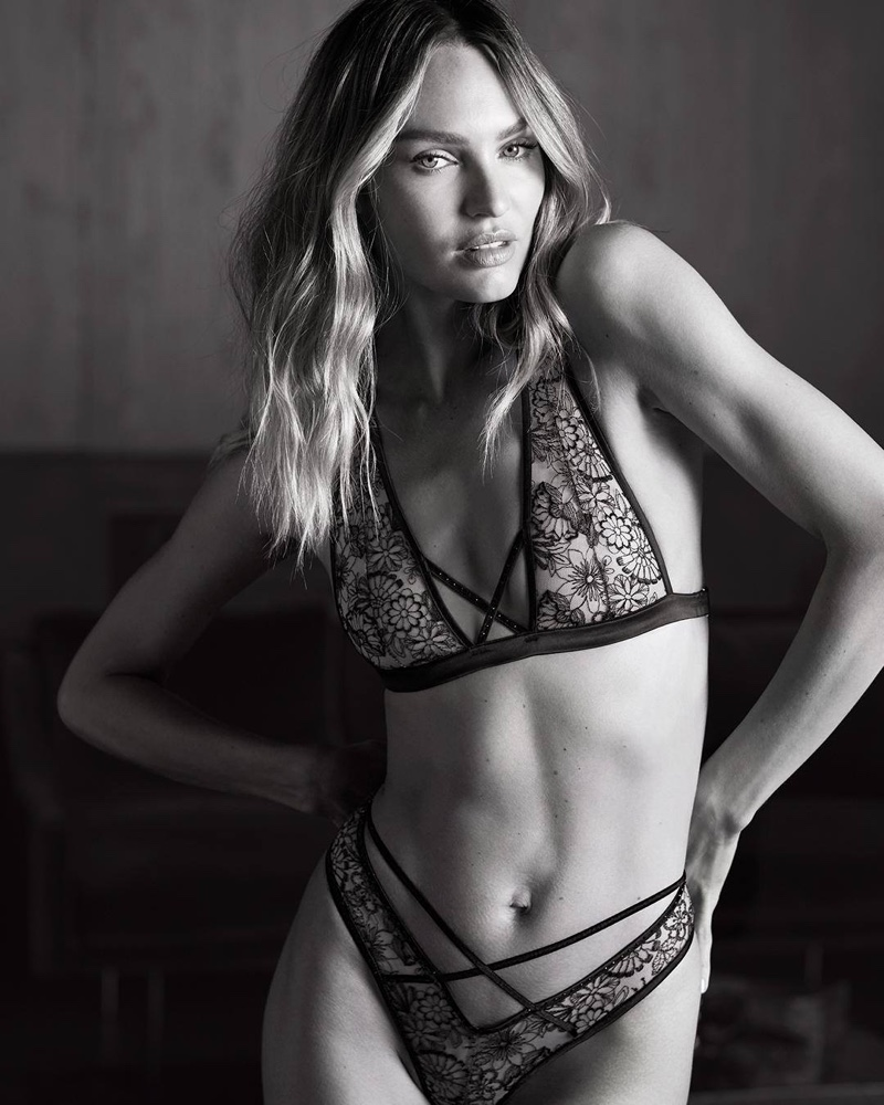 Candice Swanepoel fronts Victoria's Secret fall 2019 campaign