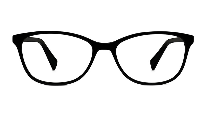 Warby Parker Daisy Glasses in Jet Black $95