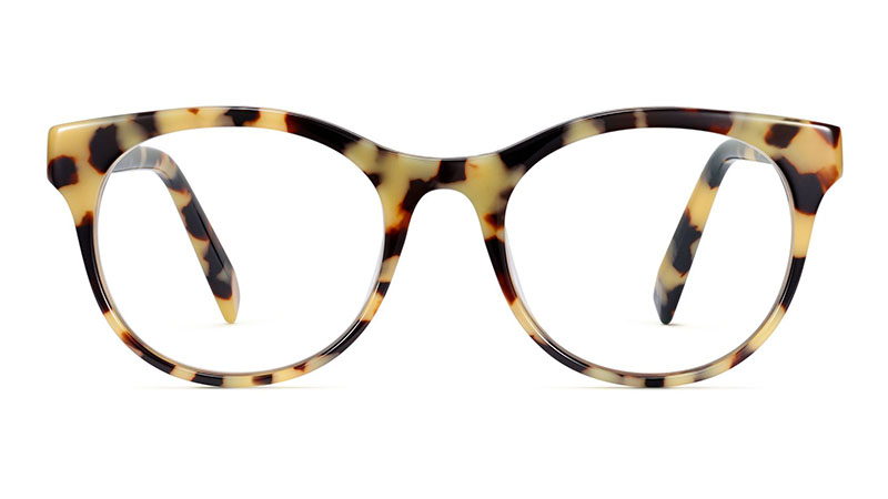 Warby Parker Remy Glasses in Marzipan Tortoise $95