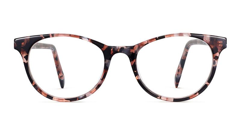 Warby Parker Virginia Glasses in Lavender Pearl Tortoise $95