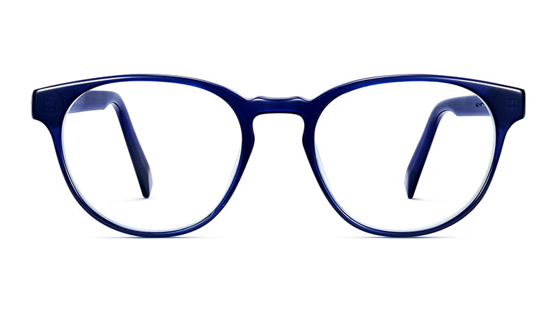 Warby Parker Whalen Glasses in Lapis Crystal $95