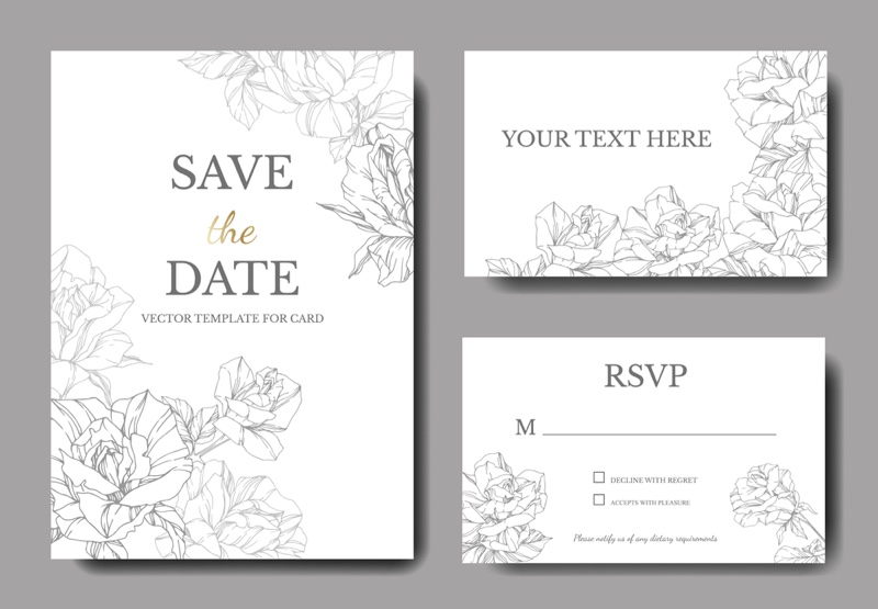 Wedding Save Date Cards