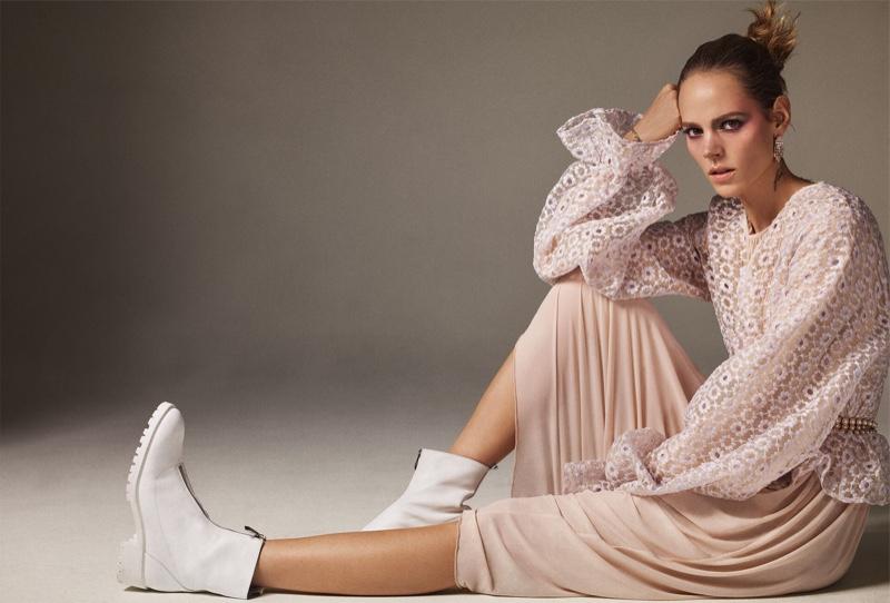 Freja Beha Erichsen Models Zara's Punk Inspired Looks