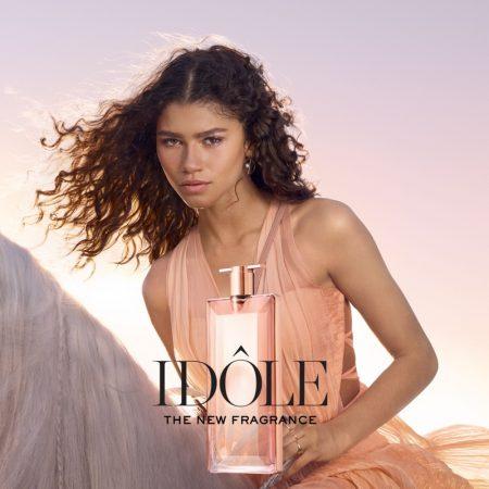 Zendaya stars in Lancome Idole fragrance campaign