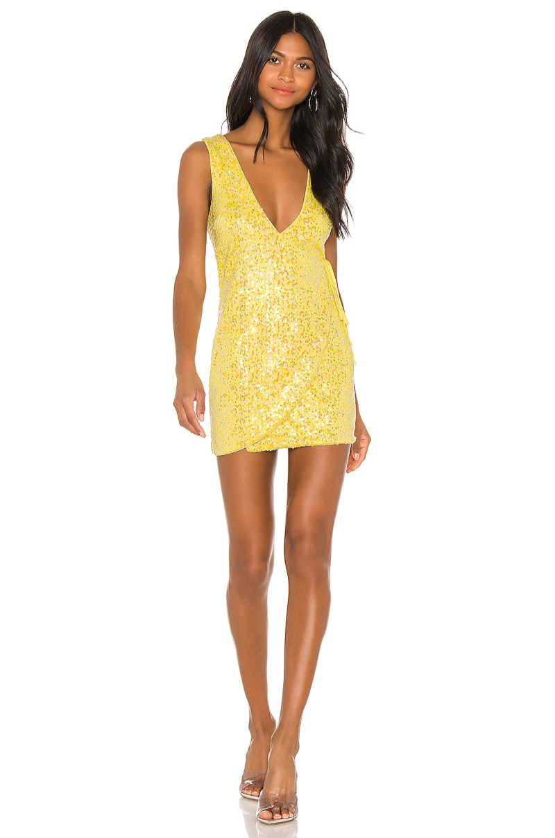 h:ours Broadway Mini Dress $168