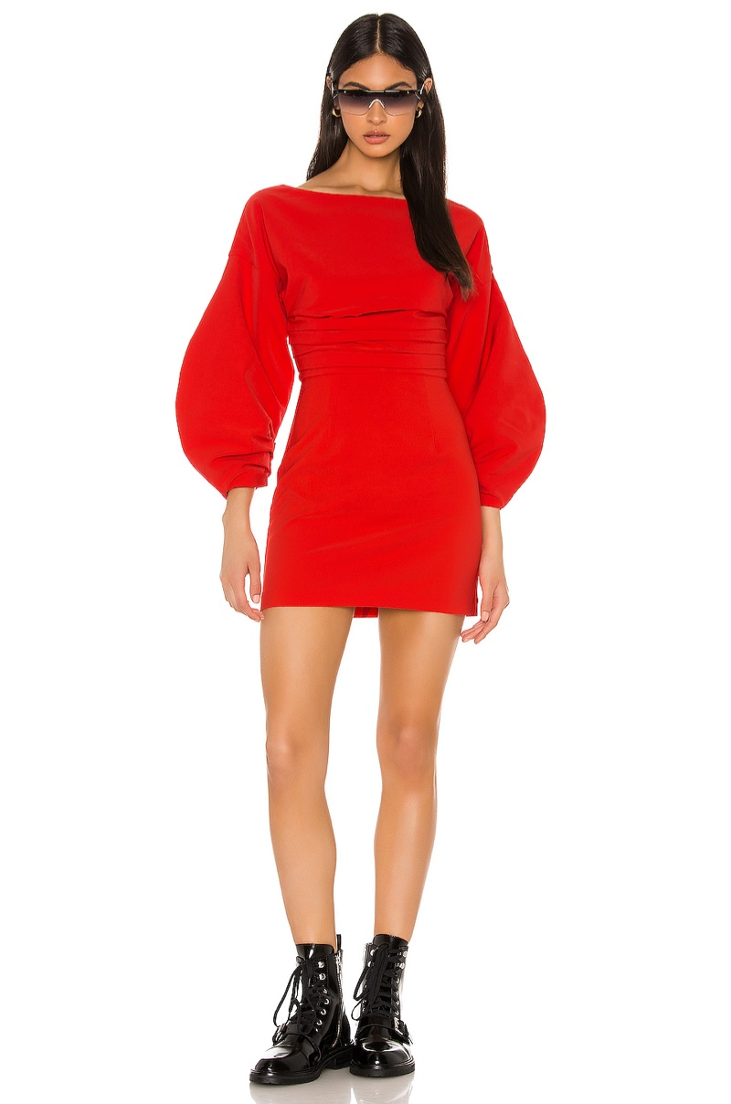 h:ours Cristiano Mini Dress $188