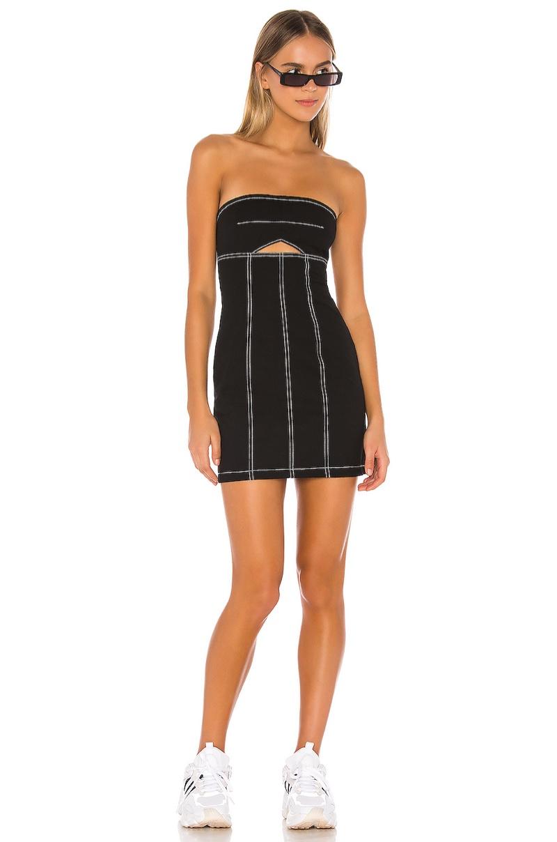 h:ours Lex Mini Dress $138