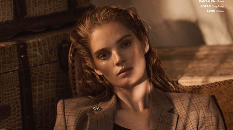 Alexina Graham Heats Up the Pages of Issue Magazine