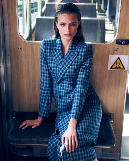 Anna Mila Guyenz Wears Elegant Styles for In The Mood Magazine