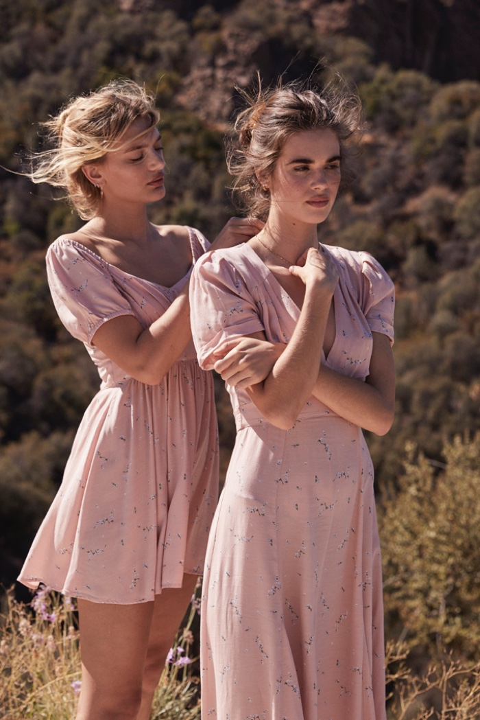 Trevor King photographs Auguste The Label Bonnie campaign