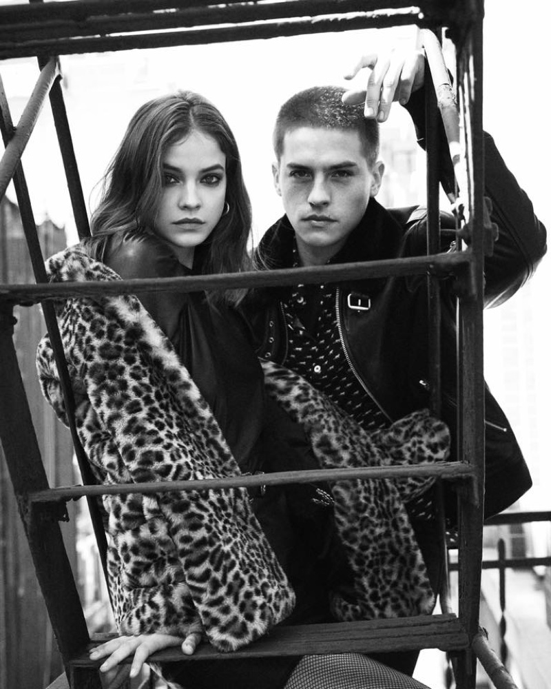 Barbara Palvin and boyfriend Dylan Sprouse star in The Kooples fall-winter 2019 campaign