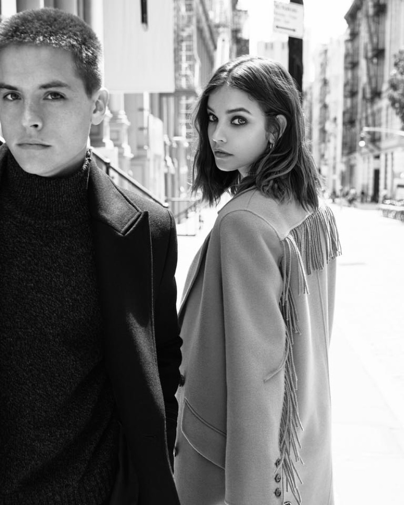 The Kooples enlist Barbara Palvin and Dylan Sprouse for fall-winter 2019 campaign