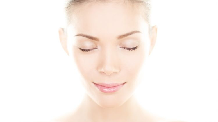 Beauty Makeup Smooth Skin Asian Model