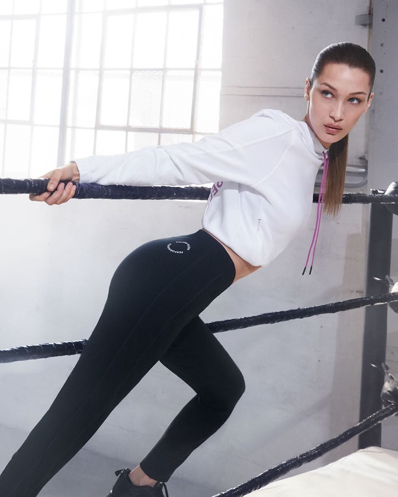 Bella Hadid stars in Calvin Klein Performance fall-winter 2019 campaign