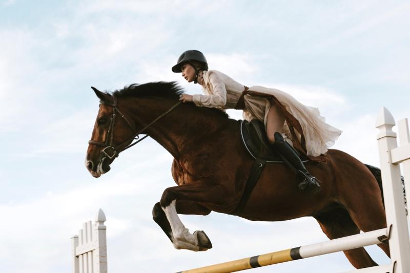 Bella Hadid V Magazine Equestrian Style Fashion Editorial