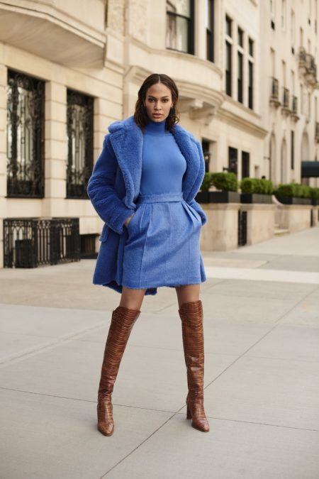 Joan Smalls stars in Bloomingdale's Mix Masters fall 2019 campaign