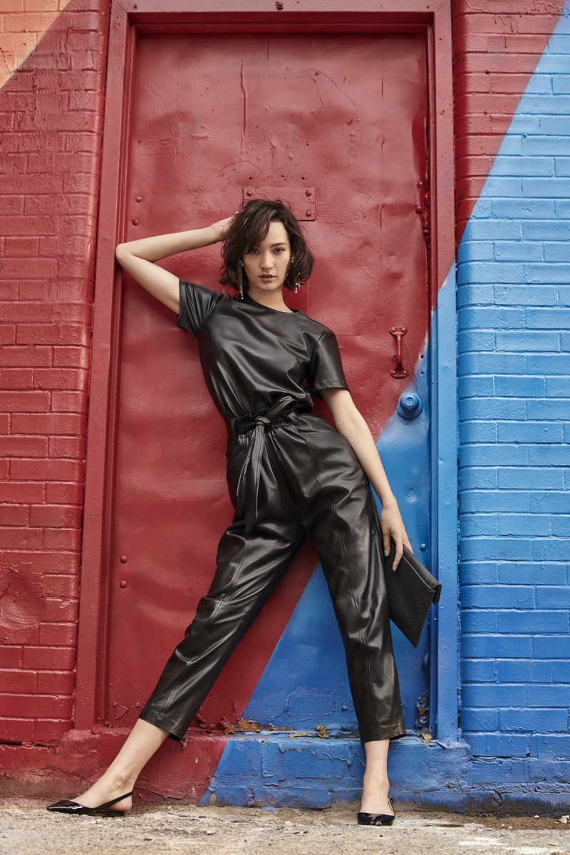 Mona Matsuoka stars in Bloomingdale's Mix Masters fall 2019 campaign