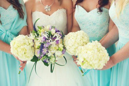 Bride Bridesmaids Bouquets