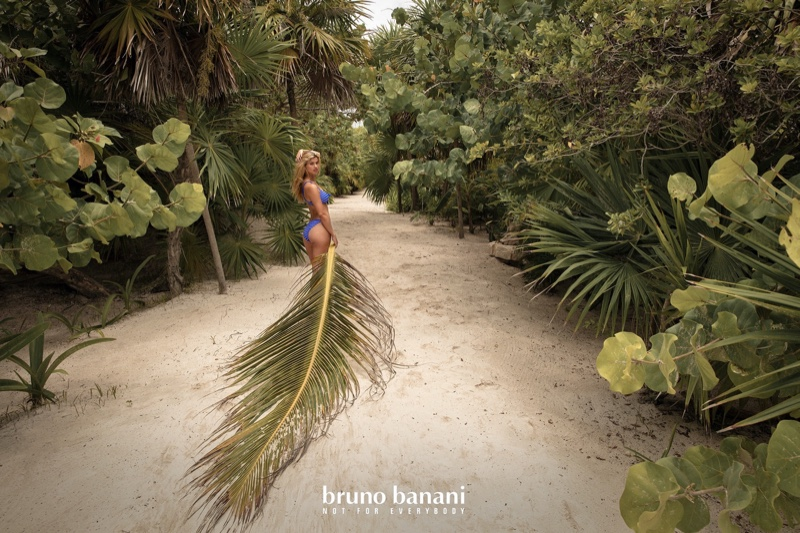 An image from Bruno Banani's summer 2020 advertising campaign