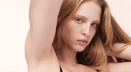 Abby Champion, Cara Taylor Front Calvin Klein Underwear Campaign